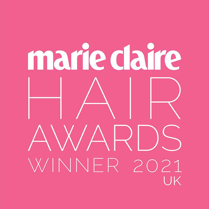 Marie Claire Hair Awards Winner 2021 UK